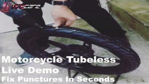 Tire Sealant: TireCare Motorcycle Live Demo