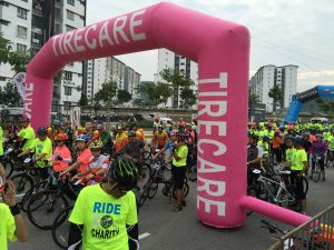 Tire Sealant: TireCare is one of the sponsors of this event