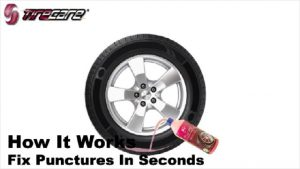 Tire Sealant: TireCare Sealant applicable on all types of tire